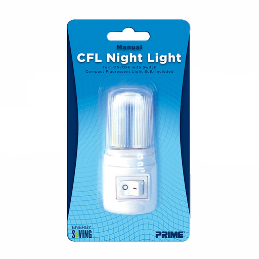 Prime Wire & Cable NLMCF Compact Fluorescent Night Light