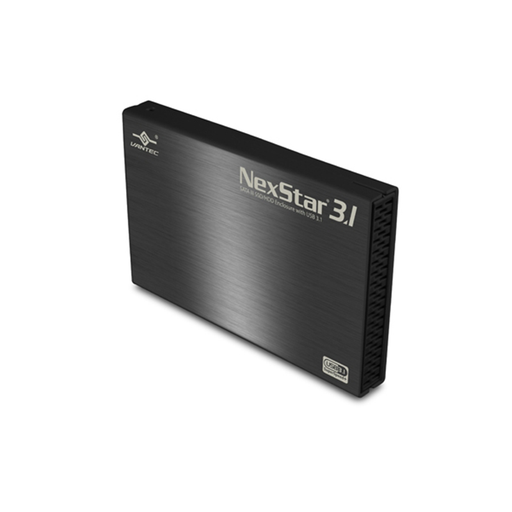 "Vantec NST-270A31-BK  2.5"" SATA 6 Gb/s to USB 3.1 Gen II Type-A SSD/HDD Enclosure"