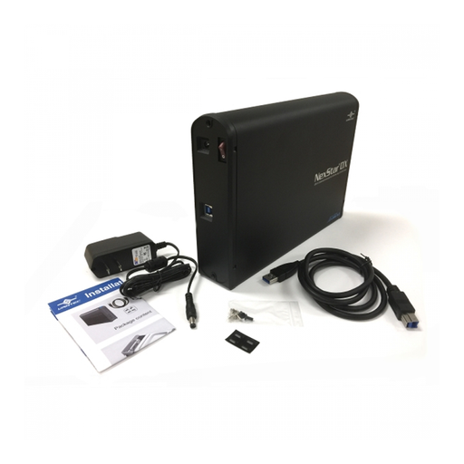 "Vantec NST-536S3-BK NexStar DX External 5.25"" Optical Drive Enclosure"