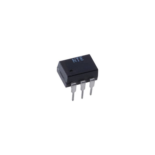 NTE Electronics NTE3041 Optoisolator with NPN Transistor Output, 6 Lead DIP Type Package, 6V