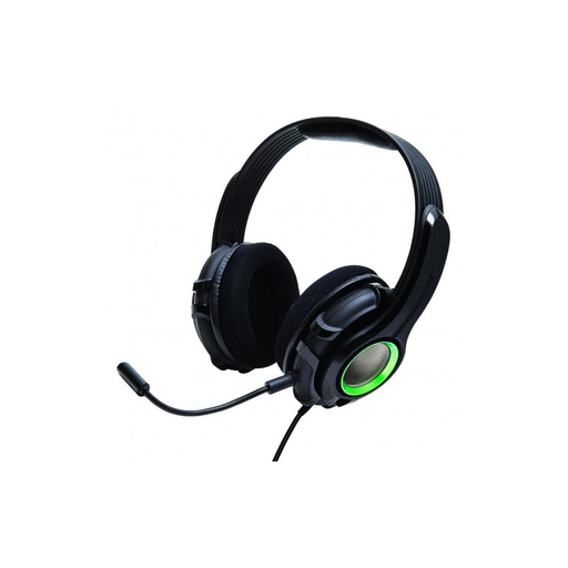 Syba OG-AUD63078 Cruiser XB210 BASS QUAKE Stereo Gaming Headset with Detachable Boom Mic for XBOX 360