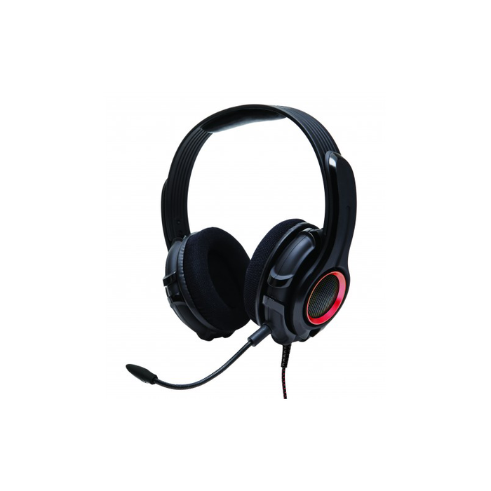 Syba OG-AUD63079 Cruiser PC200 Stereo Gaming Headset with Detachable Boom Microphone for PC