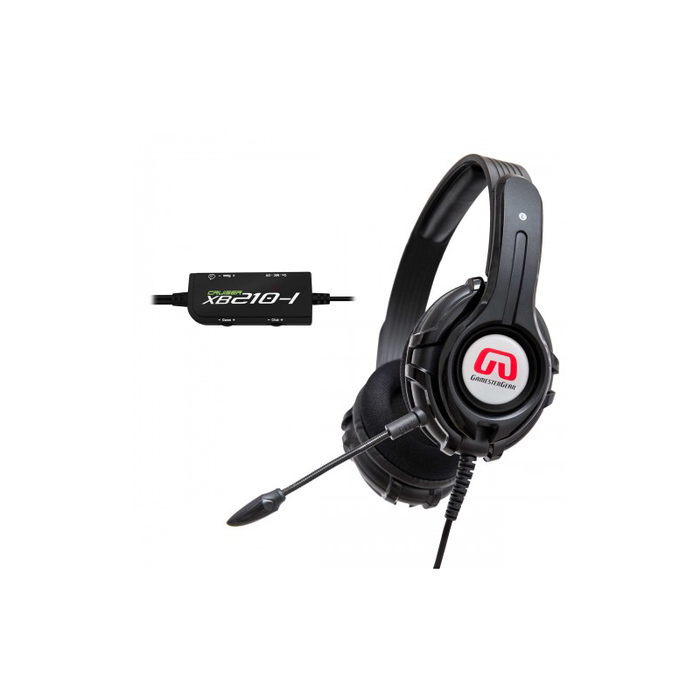 Syba OG-AUD63083 Cruiser XB210-I BASS QUAKE Stereo Gaming Headset with Detachable Boom Mic for XBOX 360