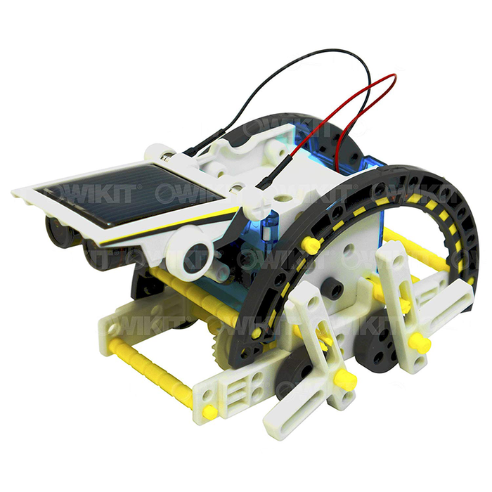 OWI OWI-MSK615 14-in-1 Educational Solar Robot Kit