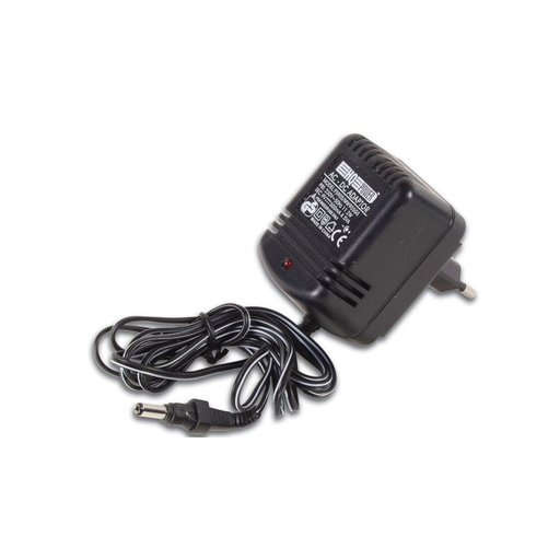 Velleman PS905 9 VDC 500mA AC Input DC Output Non-Regulated Single-Voltage Adapter, Euro Plug