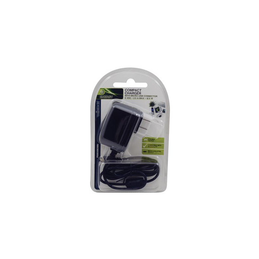 Velleman PSSEUSB26BU: Micro USB Wall Charger - 4.5 ft