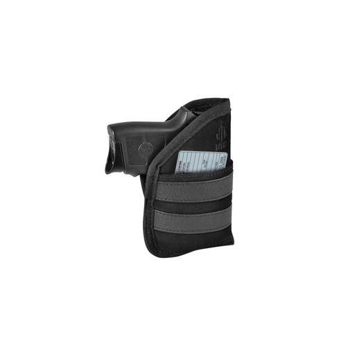 "UTG PVC-HP39 3.9"" Ambidextrous Pocket Holster, Black"