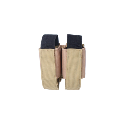 UTG PVC-M504T Molle 40mm Grenade Double Pouch, Tan