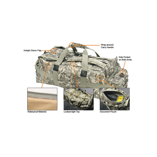 UTG PVC-P807R Ranger Field Bag, Army Digital