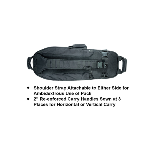 "UTG PVC-PSP34BG ABC Sling Pack 34"" Multi-Firearm Case w/Metallic Gray"