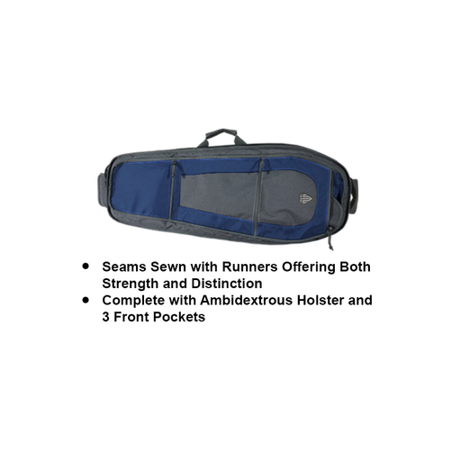 "UTG PVC-PSP34BN ABC Sling Pack 34"" Multi-Firearm Case w/Electric Blue"