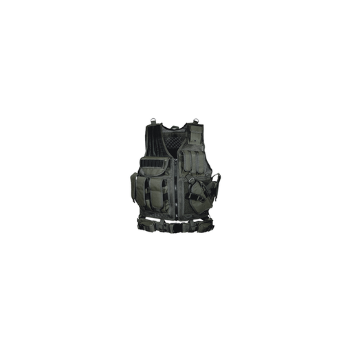UTG PVC-V547BT 547 Law Enforcement Tactical Vest, Black