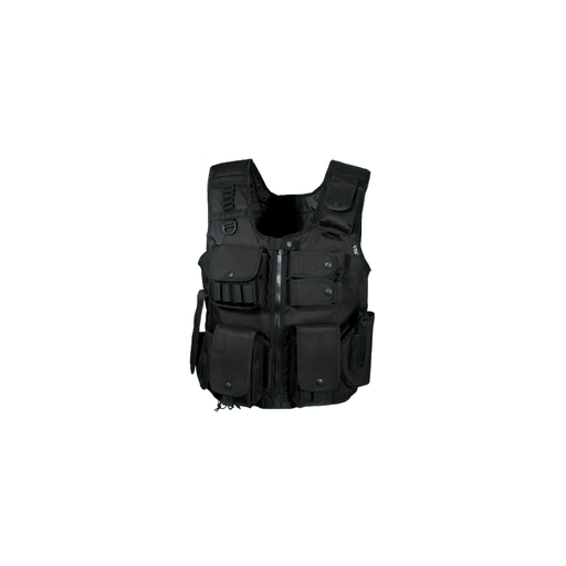 UTG PVC-V548BL Law Enforcement Tactical SWAT Vest, Black