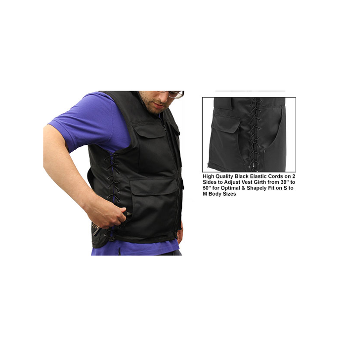 UTG PVC-VM32BB True Hunter Male Sporting Vest (S to M), Black