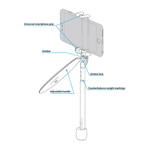 Vantec PVS-100  VGear Pocket Video Stabiliser