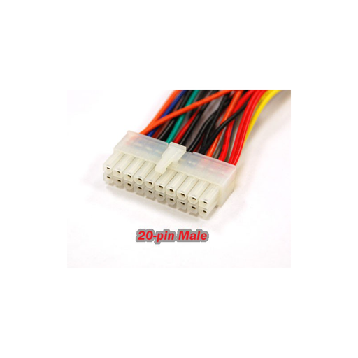 Bytecc PW-2420 Power Supply Cable 24-pin female to 20-pin male