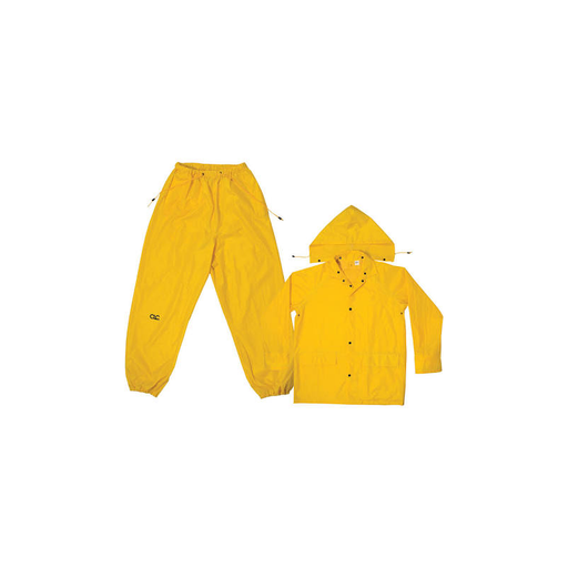 CLC R102M 3 Piece Medium-Weight Polyester Rain Suit