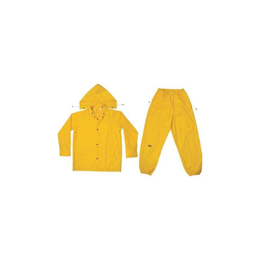 CLC R102L 3 Piece Medium-Weight Polyester Rain Suit