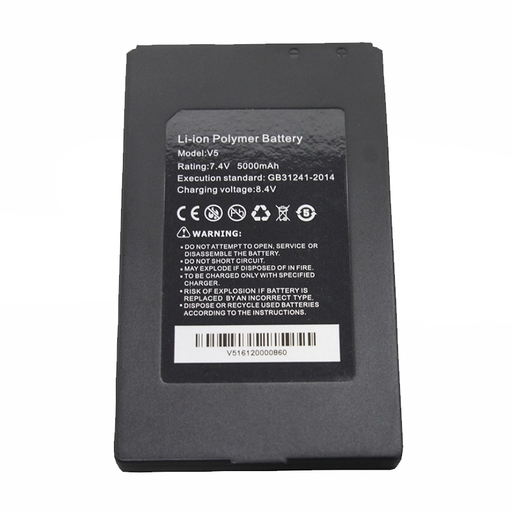 Ideal R171052 SecuriTEST IP Replacement Li-Ion Battery 7.4 Volt/5000 Mah/37 Watt