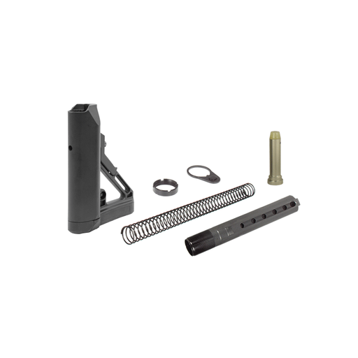 UTG RBUS1BM PRO AR15 Ops Ready S1 Mil-spec Stock Kit, Black