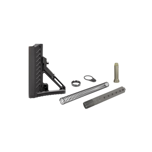 UTG RBUS2BM PRO AR15 Ops Ready S2 Mil-spec Stock Kit, Black