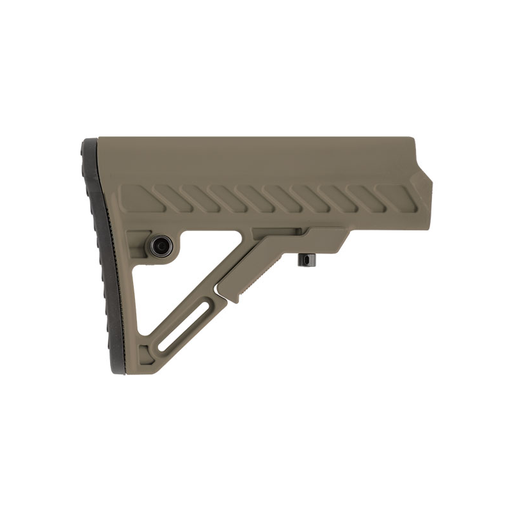 UTG RBUS2DMS PRO AR15 Ops Ready S2 Mil-spec Stock Only, FDE