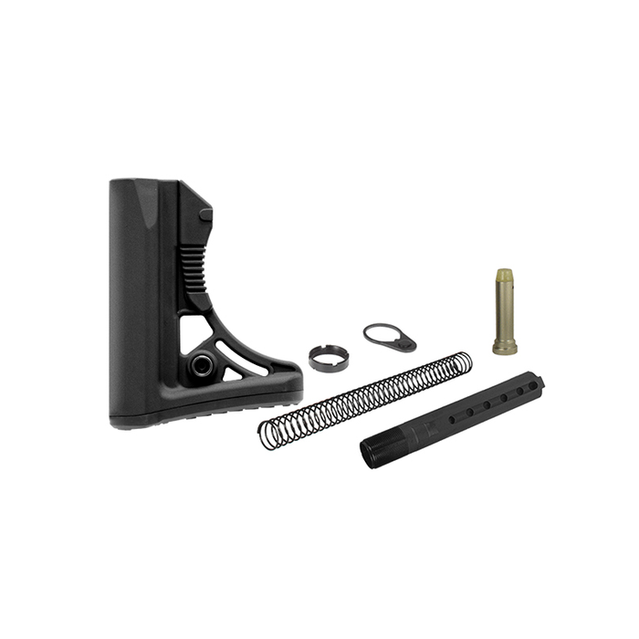 UTG RBUS3BC PRO AR15 Ops Ready S3 Commercial-spec Stock Kit, Black