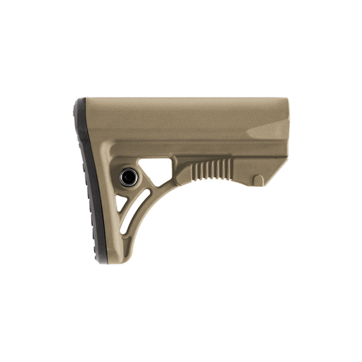 UTG RBUS3DMS PRO AR15 Ops Ready S3 Mil-spec Stock Only, FDE