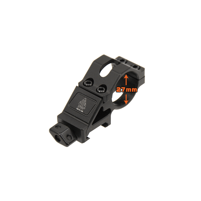 UTG RG-FL138 Angled Offset Low Profile Ring Mount for Light Devices