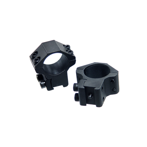 "UTG RGPM-25M4 1""/2PCs Medium Profile Airgun Rings w/Stop Pin"