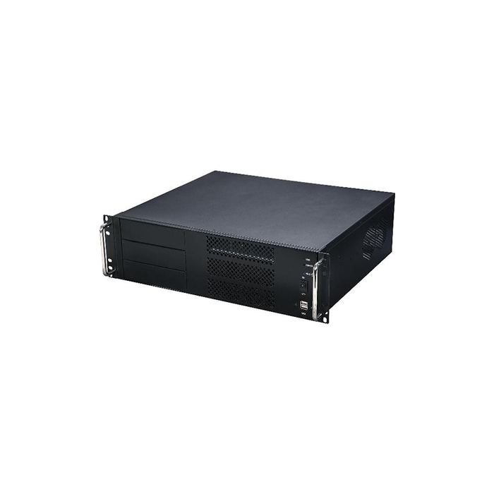 Athena Power RM-3UC338 Space-Saving 3U Rack-mount IPC Server Chassis