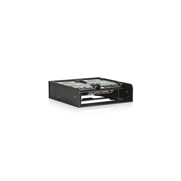 "iStarUSA RP-3HDD2535E 5.25"" Drive Bay Bracket for 2.5"" 3.5"" HDDs/SSDs and 3.5"" Device"