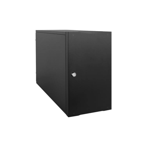 "iStarUSA S-917-500R8PD8 Compact Stylish 7x 5.25"" Bay mini-ITX Tower with 500W Redundant Power Supply"