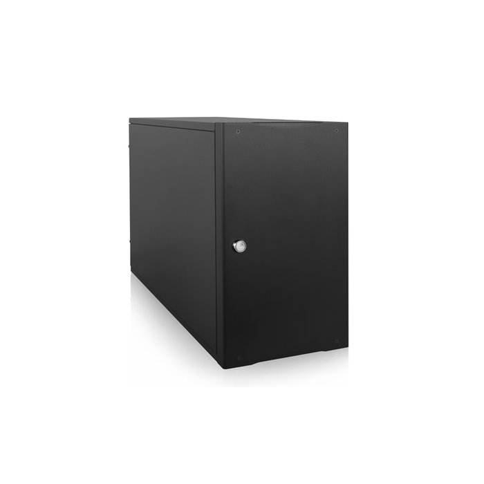 "iStarUSA S-917 Compact Stylish 7x 5.25"" Bay mini-ITX Tower"