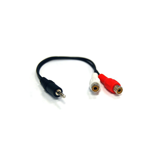 Bytecc S352A 3.5mm STEREO Male to 2RCA Female, 6""