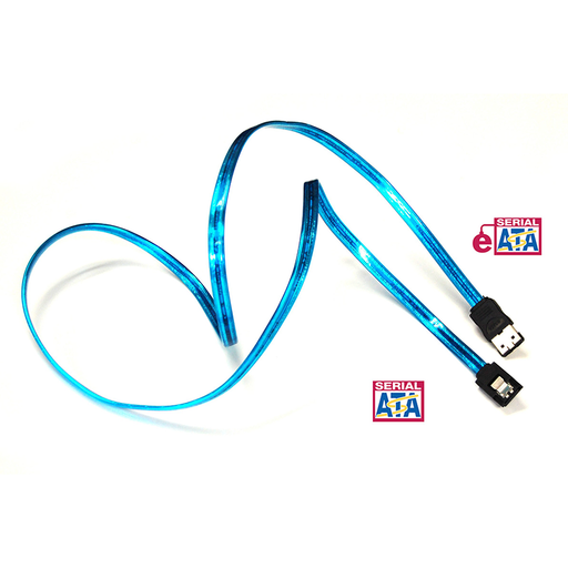 Bytecc SATA-336EO/UVB UV Blue Serial ATA III to e-SATA 6Gbps Cable, 36 Inches