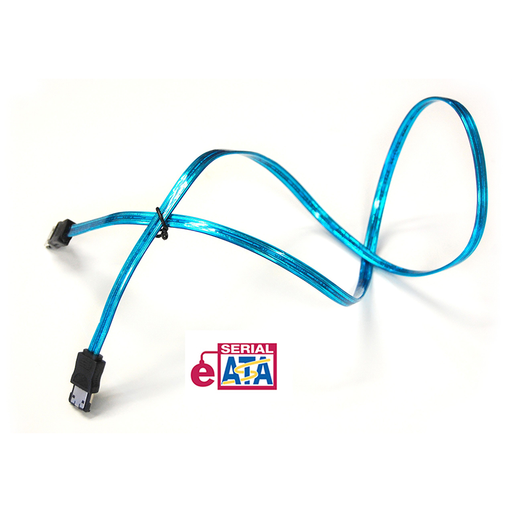 Bytecc SATA-336E/UVB UV Blue e-SATA to e-SATA 6Gbps Cable, 36 Inches