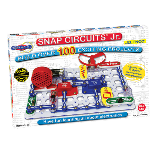 Elenco SC-100 Snap Circuits Jr. 100 Experiments Electronics Kit