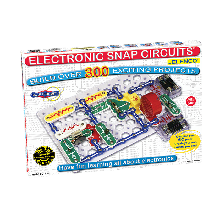 Elenco SC-300 Snap Circuits 300 Experiments Electronics Kit
