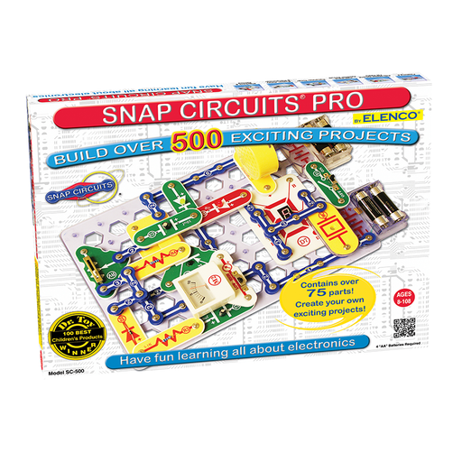 Elenco SC-500 Snap Circuits Pro 500 Experiment Electronics Kit