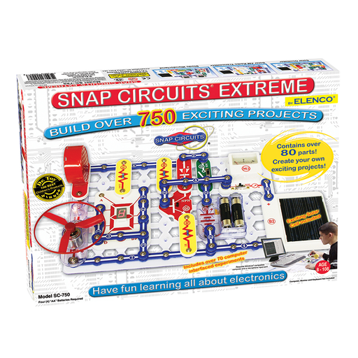 Elenco SC-750 Snap Circuits Extreme 750 Experiments Electronics Kit