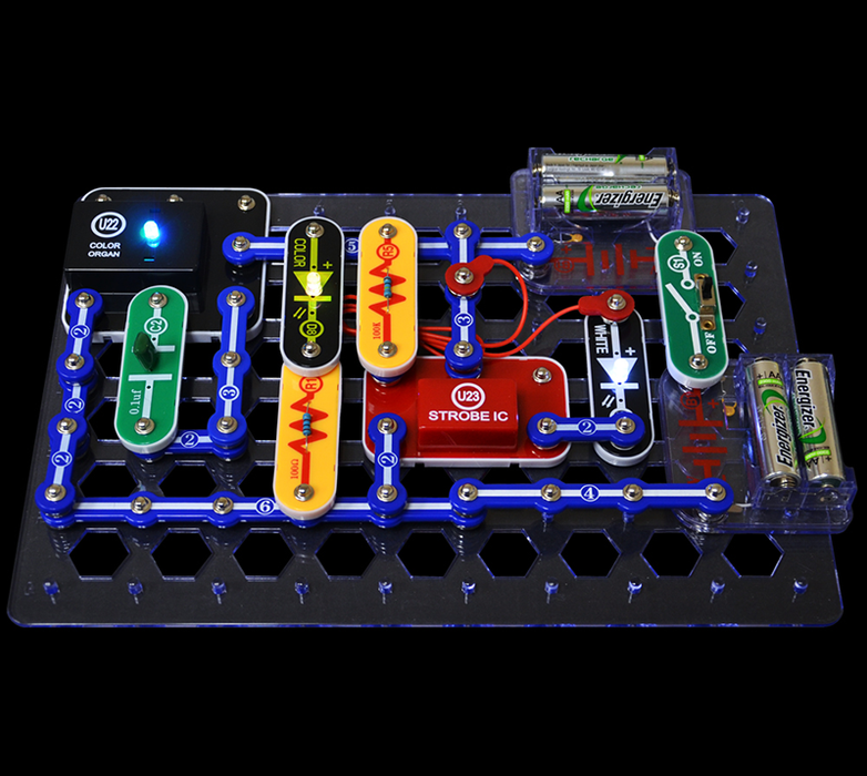 Elenco SCL-175 Snap Circuits LIGHT Electronics Set