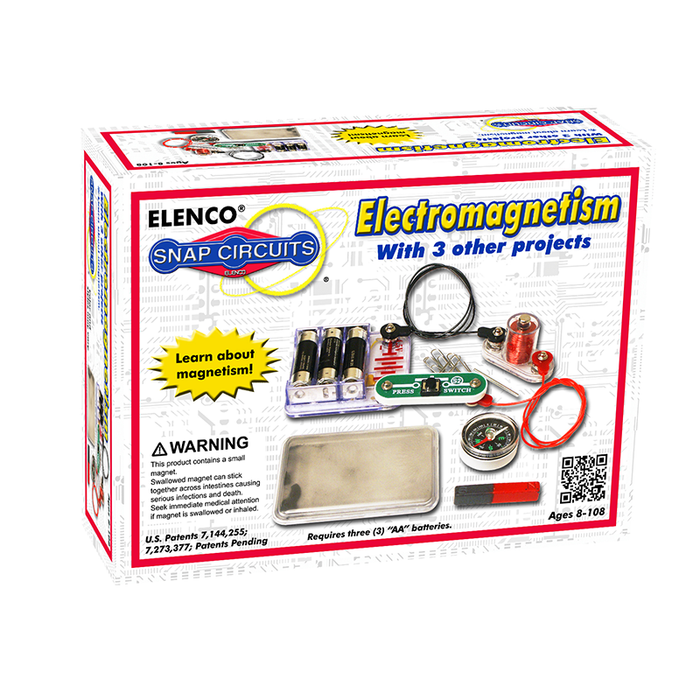Snap Circuits SCP-08 Electromagnetism