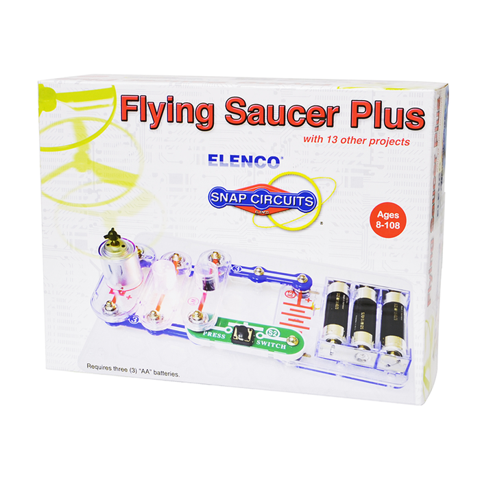Snap Circuits SCP-09 Flying Saucer Plus