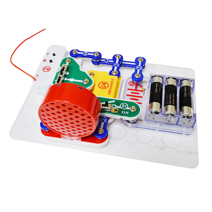 Snap Circuits SCP-12 FM Radio Kit