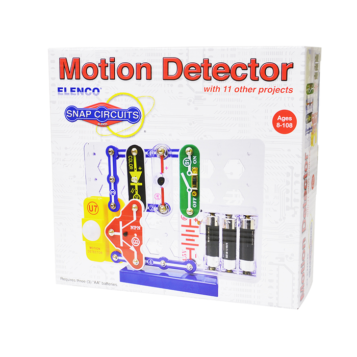Snap Circuits SCP-13 Motion Detector Kit