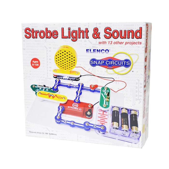 Snap Circuits SCP-14 Strobe Light & Sound