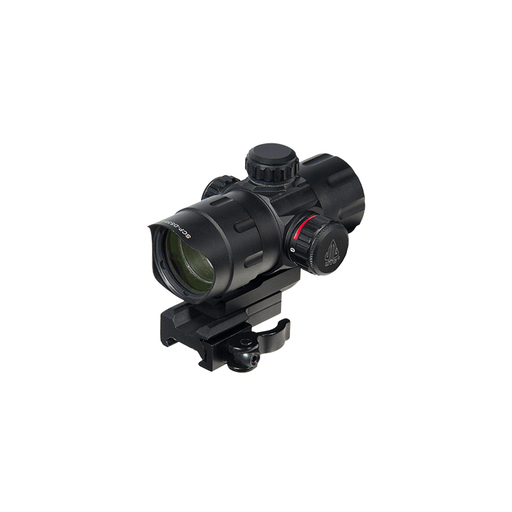 "UTG SCP-DS3840TDQ 4.2"" ITA Red/Green T-Dot with QD Mount, Riser Adaptor"