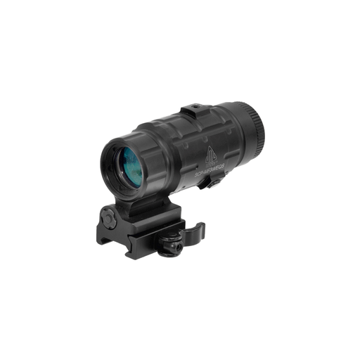 UTG SCP-MF3WEQS 3X Magnifier with Flip-to-side QD Mount, W/E Adjustable