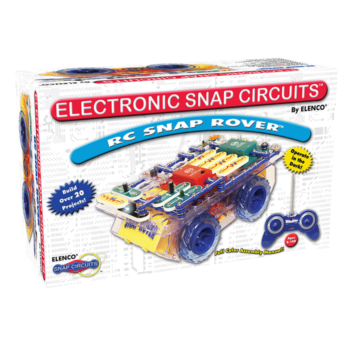 Snap Circuits SCROV-10 R/C Snap Rover Electronics Discovery Kit